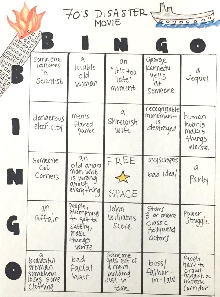 Disaster Bingo