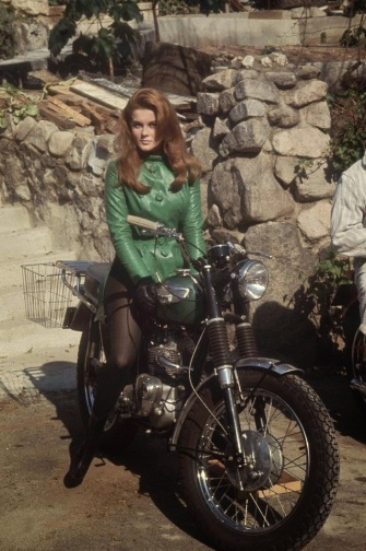 Ann-Margret motorcycle