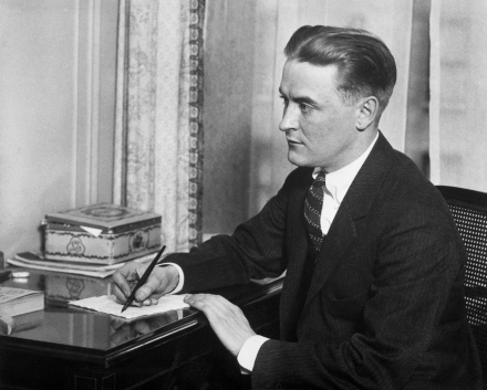 (Original Caption) Portrait of Francis Scott Fitzgerald (1890-1940), American fiction writer. Photo.